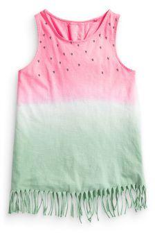 Watermelon Fringed Vest (3-16yrs)