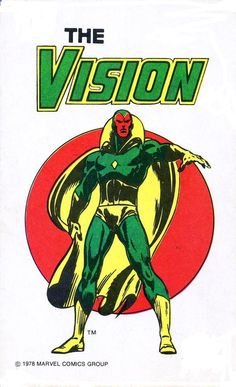 The Vision by John Buscema