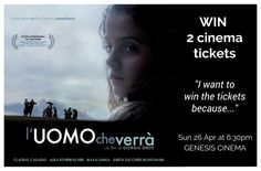 Send an email to contact@delicatezza.co.uk, giving us your best reason to win 2 tickets for the screening of 'L'UOMO CHE VERRÀ' at Genesis Cinema on Sunday 26 April at 6:30pm. We will pick the winners tomorrow. Good luck! In collaboration with CinemaItaliauk