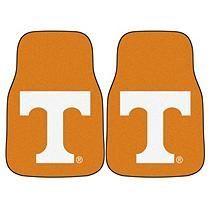 NCAA - University of Tennessee 2-pc Carpet Car Mat Set