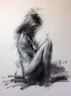 ALLEGRO NO.9 (Spiccato) #Expressive #figure #drawing with #primitive #charcoal by #ZinLim