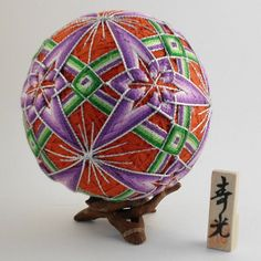 temari balls | Temari Ball Hanabi fireworks Design by NavAndFets on Etsy