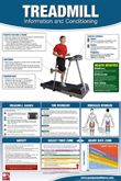 Treadmill Workout Professional Gym Wall Chart Poster - Productive Fitness