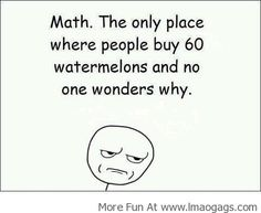 Math and watermelons