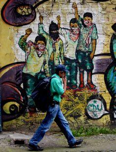 graffitis en bogota