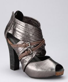 Take a look at this New Pewter Lisbona Shoe by Apepazza on #zulily today!
