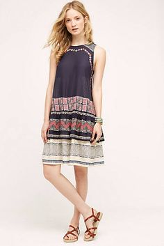 Romana Swing Dress at Anthropologie Maxi Styles, Summer Dresses For Women, Mode Inspiration, Swing Dress, Dress To Impress, Fashion Models, Short Dresses, Diys, Clothes For Women