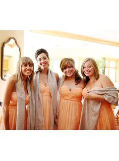 A beautiful spring wedding in Donan Morgan peach fuzz, and a playful shrug