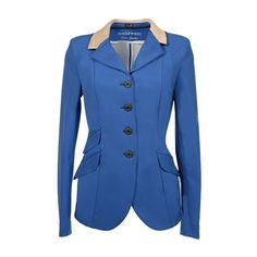 Horse Show Jackets from Equiporium for men, women and children. A collection of high quality horse show jackets. For dressage, eventing, showing, and show jumping. Horse And Human, Show Jackets, Detachable Collar, Show Jumping, Equestrian Style, Royal Blue, Riding Clothes, Colours, Blazer