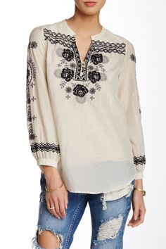 Embroidered Blouse by 3J Workshop on @nordstrom_rack
