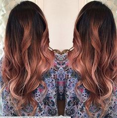 Rose gold balyage More