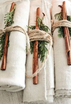 Scents of the Season Linen Wraps