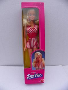 Vintage Mattel Barbie  1983 Playtime Barbie NRFB  Fashion