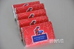 Chocolates personalizados – Homem Aranha  :: flavoli.net - Papelaria Personalizada :: Contato: (21) 98-836-0113 vendas@flavoli.net