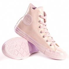 b2b1e1efa9776d Converse Chuck Taylor All Star Iridescent Rubber Womens Trainers in Light  Purple - Women s Shoes -