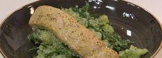 Broccolistamppot met zalm uit de oven - MAX Vandaag Broccoli, Chicken, Meat, Food, Drinks, Drinking, Beverages, Eten, Drink