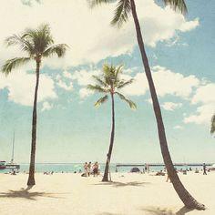 Waikiki Wall Tapestry by Retro Love Photography Summer Vibes, Summer Breeze, Hawaii Homes, Beach Photography, Summer Of Love, Summer Fun, Summer 2014, Summer Days, Summer Beach