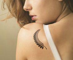 17 de la hoja del trébol y diseos de tatuajes para la Mujer  Moda Espanola