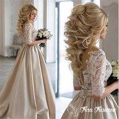 Eye-Catching Bridal Lange Frisuren, die Sie lieben werden