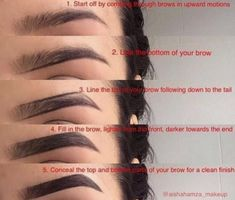😍😍😍 Repost Soooo then girliessss! A brow tutorial was highly requested by a lot of yous ✨Hope this helps you💖 I used dipbrow pomade in Ebony and angled brush to apply it , I also used creamy concealer in Vanilla 💖💕💝 Eyebrow Makeup Tips, Eyebrow Tinting, Eye Makeup Steps, Skin Makeup, Eyeshadow Makeup, Eyebrow Pencil, Eyeshadow Palette, Beauty Makeup, Beauty Tips