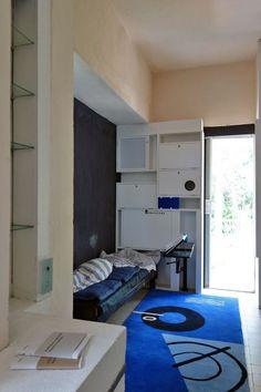 Eillen Grey, la villa E-1027 à Roquebrune Cap-Martin, France.