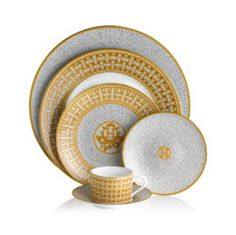 Hermes dinnerware set