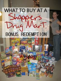What to buy at a Shoppers Drug Mart Bonus Redemption? Mrs January believes the Shoppers Optimum rewards program is the best one in Canada. So much that she wrote an eBook about it. Ways To Save Money, Money Tips, Money Saving Tips, Best Savings, Extreme Couponing, Frugal Living Tips, Budgeting Money, Tight Budget, Saving Ideas