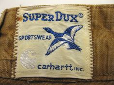 Carhartt SUPER DUX & Pコート : LEAF Vintage & Used clothing store 札幌の古着屋