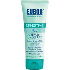 EUBOS SENSITIVE Fuß Repair & Schutzcreme:   Packungsinhalt: 100 ml Creme PZN: 05515737 Hersteller: Dr.Hobein (Nachf.) GmbH Preis: 6,17…
