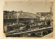 Verona storica - la costruzione dei muraglioni di lungadige Sammicheli. Verona, Louvre, Building, Travel, Italia, Fotografia, Viajes, Buildings, Destinations