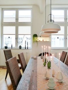 Platzhalter im Advent Dream Home Design, House Design, Interior Design Living Room, Interior Decorating, New Room, Sweet Home, Dining Table, Kitchen, Furniture
