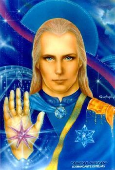 [More Chaos Stars?] Introduction to Lord Ashtar and the Guardian Angels of the Flying Forces of the Great White Brotherhood by Elizabeth Trutwin Ufo, Spiritual Satanism, Nordic Aliens, Ashtar Command, L Ascension, Les Aliens, Ascended Masters, Divine Light, The Great White
