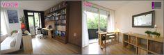 Voor en na foto's stylingadvies # verkoopstyling # vastgoedstyling