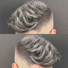 @jose_the_barber_10 - Love that Silver Grey Colour!
