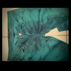 Tie dye AE Jeggings Teal tie dye a&e jeggings American Eagle Outfitters Pants