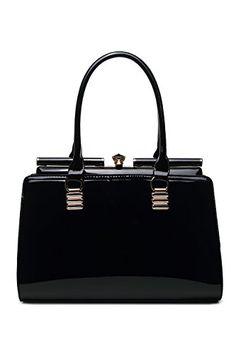 Fashion Designed Glory Bag by MKF Collection (Black) Black Satchel, Satchel  Purse, 12f5e48d76