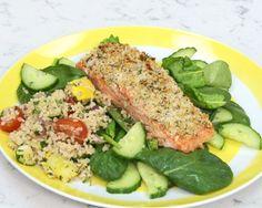 Melissa d'Arabian's Horseradish Salmon Recipe