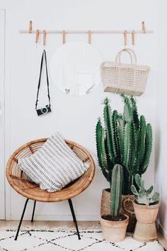 Home inspiration | Interior design | Interior | Cacti | Cactus | Vintage | Inspo | More on fashionchick.nl