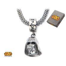 Stainless Steel Star Wars Darth Vader #Charm Mesh #Necklace. #jewelry #disney #starwars #darthvader #darkside