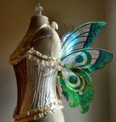 Mini Butterfly Fairy Wings Wedding Halloween Costume Faerie Reenactment Fantasy Renaissance Custom