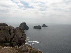 Presqu'île de Crozon - Pointe de Penhir, le tas de pois   Finistère Bretagne