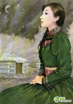 エヴェンキ族 興安嶺山脈周辺の内モンゴル自治区・黒竜江省などに居住している。