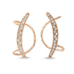 NEW Maya ear cuff in rose gold!  available in silver and gold