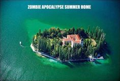"""One day my granddaughter said """"Mom and I have an apocalypse escape plan…..blew me away and I think she would like to go here.  I'll miss her"""