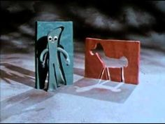 Gumby and Pokey Intro (1967)  i'm realizing, it didn't take much to amuse us, huh? :P