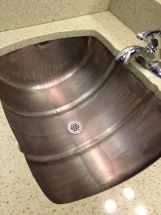 Drink the beer 1st RT @MyFixitUpLife: Repurposed beer keg as a sink? So that's awesome. @mattblashaw @ScrewItUp