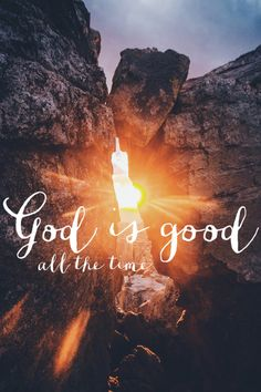 God is good - All the time. All the time - God is good. Saint Esprit, Bible Verses Quotes, Scriptures, Short Bible Verses, Gospel Quotes, Lord And Savior, My Lord, Quotes About God, God Is Good Quotes