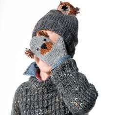 Moufles koala pour enfant Koala mittens for child