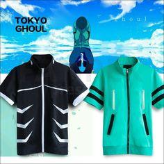 Tokyo Ghoul Cosplay Kaneki Ken Short Sleeve Hoodies