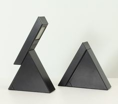Pair of Delta Table Lamps by Mario Bertorelle Desk Light, Lamp Light, Desk Lamp, Table Lamps, Geometric Lamp, O Gas, Minimal Design, Modern Design, Transitional Decor